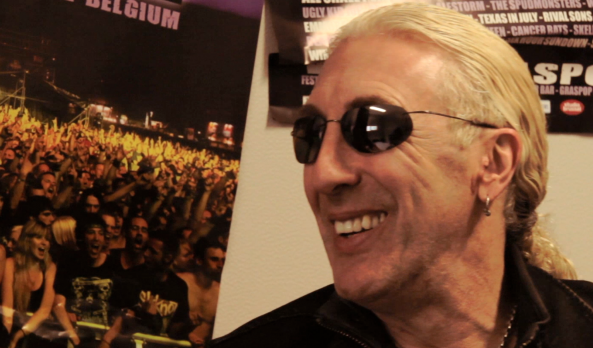 Dee Snider from Twisted Sister at Graspop 2012